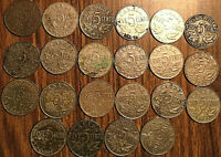 LOT OF 22 CANADA 5 CENTS ALL GEORGE V LOT OF 22 COINS