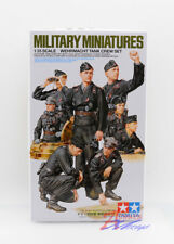 Tamiya Model 35354 1/35 WWII Military Miniatures Wehrmacht Tank Crew Set