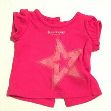American Girl Place Boston Pink Star Logo Shirt (A33-24)