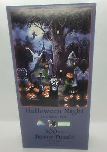 SunsOut ~ Puzzle ~ 300 Piece ~ Halloween Night by Susan Rios ~ New