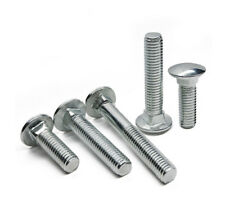 M4 M5 Square neck head semi-circular carriage screws shelf bolts zincification