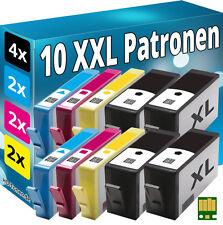 10x TINTE PATRONEN für HP 920-XL MIT CHIP OFFICEJET 6000 6500A 7000 7500A E710a