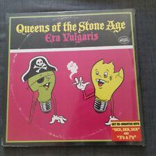 "QUEENS OF THE STONE AGE - Era Vulgaris 12"" Vinyl DELUXE GATEFOLD SEALED"