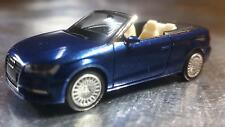 * Herpa 038300  Audi A3® convertible, scuba-blue with pearl effect 1:87 Scale HO