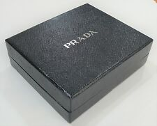 PRADA EMPTY BLACK CARDBOARD BOX FOR WALLET - EXCELLENT CONDITION - Fast Delivery