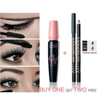 3pcs/set Menow Waterproof Mascara Volume Express 3D Makeup With Eye Liner Pencil