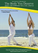 The Body You Deserve - Anthony Robbins 10CDs and 1DVD