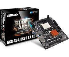 ASRock N68-GS4/USB3 FX R2.0 DDR3 Socket AM3+/AM3 Micro ATX Motherboard