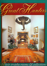 HUNTING AFRICAN Africa Hunter Trophy Rooms 1 Hunt Safari Lion Taxidermy Elephant