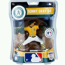 "IMPORTS DRAGON 2016 MLB 6"" SONNY GRAY FIGURE Oakland Athletics A's Baseball ball"