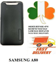 samsung Galaxy  A80   new slim armor Dual shock proof case screen cover black