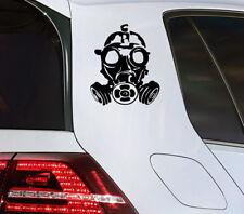 Calavera máscara antigas pegatinas zombi sticker Skull moto chopper quad gas Mask