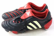 Adidas Mens predator Pulse 2 XTR SG Soccer Cleat Black White Red Size 7.5 US