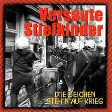 VERSAUTE STIEFKINDER - DIE ZEICHEN STEH'N AUF KRIEG CD (1998) DEUTSCH-PUNK