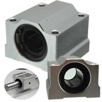 SC20UU 20mm Aluminum Alloy CNC Slide Bushing Shaft Linear Ball Bearing Block