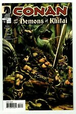 CONAN AND THE DEMONS OF KHITAI #3 NM- Robert E. Howard! Nude #24 Ad Variant 2006