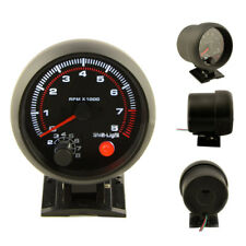 3.75Inch 12V Universal 0-8000RPM Car Tachometer Tacho GaugeMeter LED ShiftLight