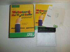 Webster: The Word Game Commodore 64 in box