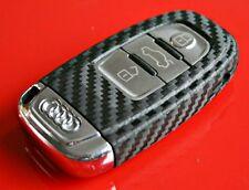 Audi A4 A5 A7 S4 S5 A8 Q5 8K B8 RS4 8T 8F 4H clé decor key decor carbon optic