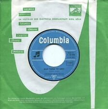 """CLIFF RICHARD & THE SHADOWS - 7"""" Blue Turn To Grey (D,Columbia,66) STONES cover!"""