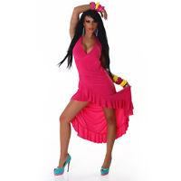 Sexy Women Summer Maxi Dress Celeb Style Dipped Hem Ladies Dress Size 6 8 10 12