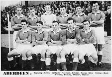 ABERDEEN FOOTBALL TEAM PHOTO>1956-57 SEASON