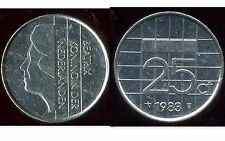 PAYS BAS  25 cents 1983