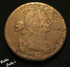 1798 Draped Bust Lage Cent<>S-167 R1 Die State B/Rim Break/Cracks<>Ag/G Details