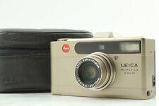 【Near Mint w/Case】 Leica Minilux Zoom Film Camera Vario-Elmar 35-70mm From Japan