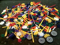 K'nex A Good Selection Of Knex Parts App 700 Grammes Of Mixed Parts