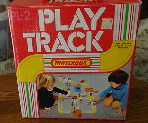 Matchbox Play Track PL-2 - Vintage - almost complete