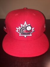 Team Canada 2013 World Baseball Classic On Field 59fifty Hat Cap New Era Size 8