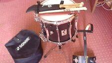 Parade Snare Sonor Professional Line MP1412XCB Drum Marching Trommel mit Zubehör
