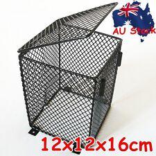 Reptile Heat Lamp Light Bulb Mesh Cage Protector Guard Enclosure 12x12x16cm