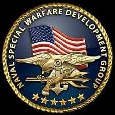 Enmarcado Us Military Insignia impresión – nos Navy Seal fuerzas especiales (Foto Poster)