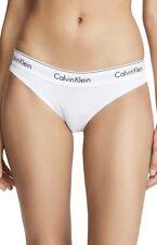 Calvin Klein Women's Underwear Modern Cotton Bikini Cut Briefs in White