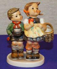 "Vintage Goebel Mi Hummel To Market Figurine #49 3/0 4"" W. Germany Tmk5"
