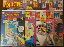 DETECTIVE COMICS LOT OF 11 322 TO 370 - GD/VG TO FN