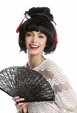 Wig Black Carnival Japan Geisha Maiko China Chinagirl Asian Woman Chignon