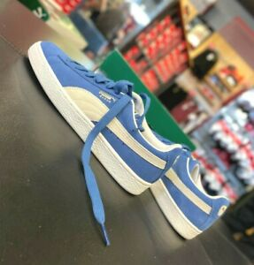 Puma Suede Classic Olympian Blue-White Men's Sneakers 352634-64 US8.5~14 NEW