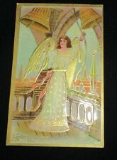 VINTAGE BLANK EASTER CARD POSTCARD EARLY 1900s for a 1 CENT STAMP BEAUTIFUL