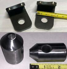 John Deere Quick Attach Weld Bracket 500 510 520 521 Loader Bucket Hooks Pin