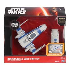 Star Wars The Force Awakens Remote Control Resistance X-Wing Fighter Free P&P