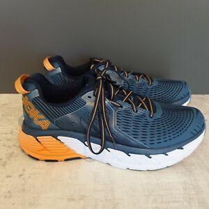 Hoka One One Blue/Orange Gaviota  Men's Running shoe.  UK size 7.5