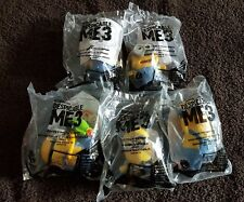 2017 McDonald's Happy Meal Despicable Me 3 Toys 5 Figure LOT *New In Package*
