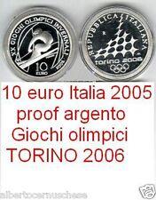 10 euro Italia 2005 AgTORINO Turin OLIMPIADI 2006 italie Italy Italien Турин