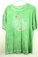 Green Levi's Graphic Tee Large T-Shirt California Republic