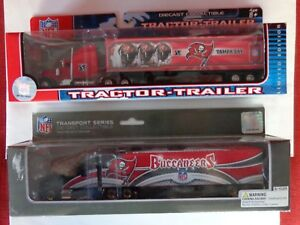 Vintage NFL Tampa Bay Buccaneers 2 - Semi Trucks 2006 and 2008 New in Box NOS