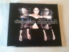 DEBELAH MORGAN - DANCE WITH ME - 5 MIX UK CD SINGLE