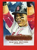 Rafael Devers 2018 Topps Gallery Impressionists Rookie Card ⚾️ #I-22